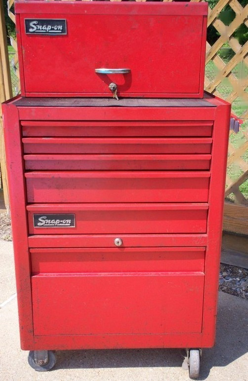 snap on tool chest image